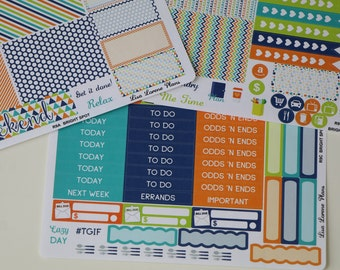LARGE Recollections | BRIGHT SPOT Planner Sticker Set | R9Abc+D