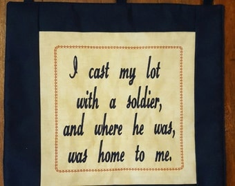 Military Wife Quilt Wall Hanging, Army Wife Gift, Army Wife Pin Quilt, Military Spouse Quilt, Navy, Air Force, Marine, Coast Guard