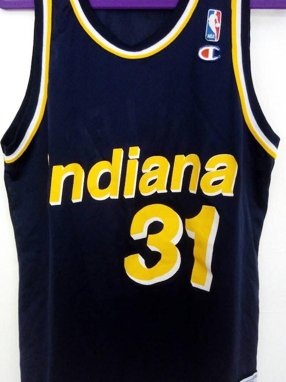 cheap Vtg Reggie Miller Indiana Pacers 31 NBA by VintageLegacyStore ... 7ddce7644