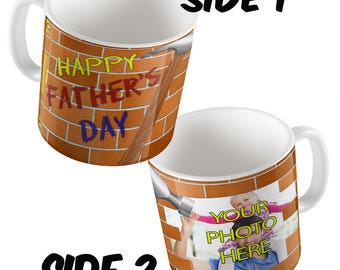 DIY FATHERS DAY -  Full Wrap around mug