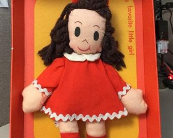Horsman Little Lulu Doll in original box 1970's