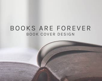 Book cover design service, ebook cover design, paperback cover design, book design, cover design.