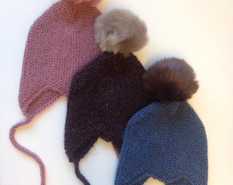 Alpaca Baby Hats