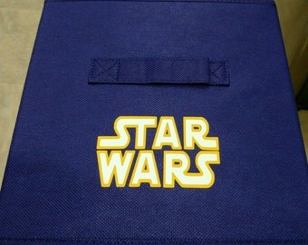 Star War Storage Bins All sides covered