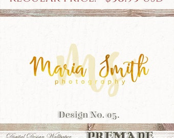 SALE- Premade Logo Design,Premade Logo,Photography Logo,Logo, Business Logo, Watermark Logo,Logo Design,Photographer Logo,Calligraphy Logo