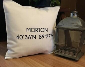 MORTON Illinois Coordinate Pillow Case