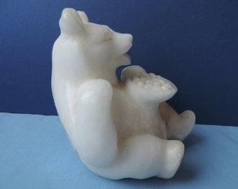 Onyx/Marble Russian Bear Vintage