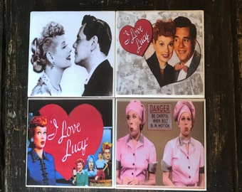 I Love Lucy Coasters (set of 4)