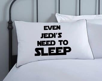 Star Wars Bedding   Jedi Pillowcase   Star Wars Kids Pillows   Monochrome Bedding    Cotton   Star Wars Bedding   Kids Pillows