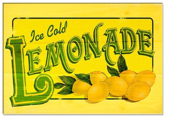 Items similar to Lemonade on EtsyLemonade Sign Free