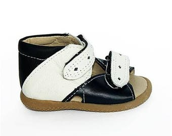Genuine leather sandals for kids