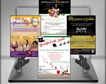 Custom Made Event Flyer