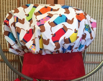 childrens chef hat , jr chef hat, cooking hat, pretend hat