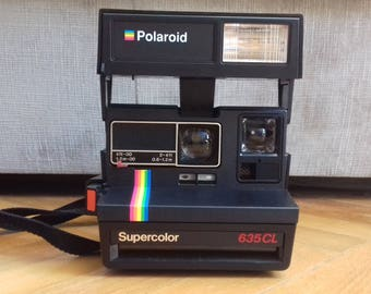 Vintage Camera Polaroid Supercolor 635CL