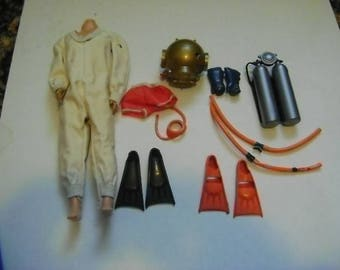 Action Doll Diving Suit and Accessories