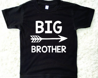 Big Brother Shirt, Sibling Shirt, Pregnancy Announcement, New Baby, Little Brother, Super Brother, Baby News, American Apparel,