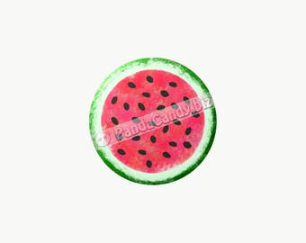 WATERMELON Button/Magnet/Keychain (Select Style)