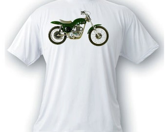 BSA B44 mettisse 500 1968 motorcycle vintage image t-shirt