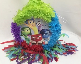 Fast Shipping Inside Out Pinata