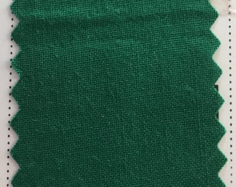 Christmas Emerald Green Quilter's Homespun 100% Cotton Fabric 1/2m lengths