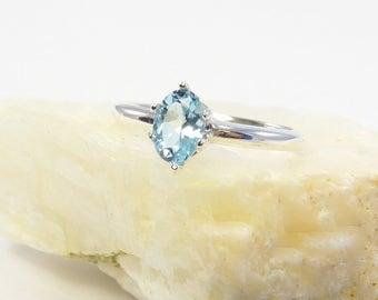 Sky Blue ring topaz, blue topaz ring, sterling silver topaz ring, sky topaz ring, sky, ring size 3 4 5 6 7 8 9 10 11 12 13