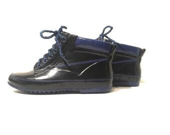 Vintage Sporto rain garden ankle boots