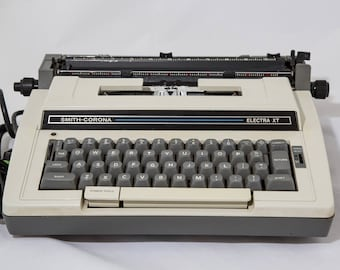 1960's Smith-Corona Electra XT Electric Typewriter