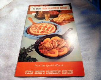 Ocean Spray 22 Best Fresh Cranberry Recipes Vintage