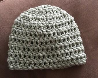 Newborn crocheted hat