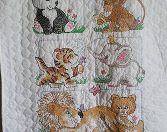 Animal Babe's Quilt
