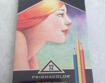 Prismacolor Colored Pencil set, 12 ct colored pencils