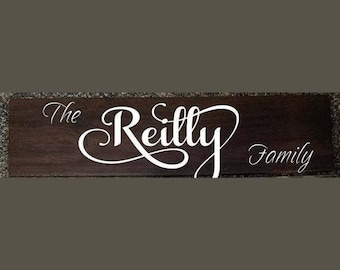Personalized Family Sign -- Ceramic Tile
