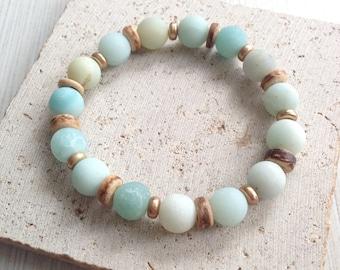 Boho Bracelets,Marble Bracelets,Stone Bead Bracelets,Jade Bead Bracelets,Marble Bead Bracelets,Boho Marble Bead Bracelets