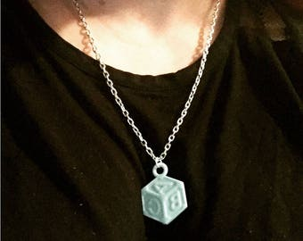 Baby Block Necklace