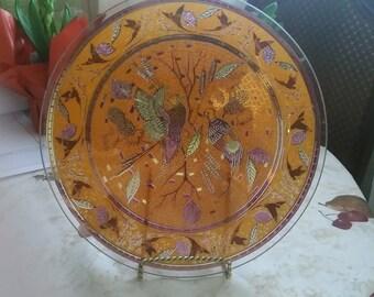 Oriental Design Plate
