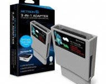 RetroN 5 3-in-1 Adapter for Game Gear, Master System, and Master System Card