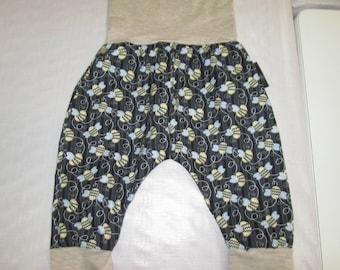 Child harem pants, bee clothing pants sarouel trousers