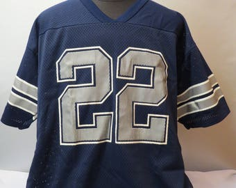 Dallas Cowboys Jersey (VTG) - Emmit Smith # 22 - By Logo 7 - Men's Extra Large