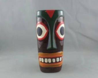 Vintage Hawaiian Tiki Mug - Hand Painted - By Victoria Ceramics