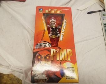 """Blood dolls movie 12"""" movie edition figure Full moon toys Pimp"""
