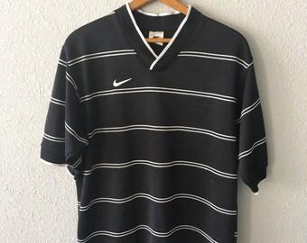 1990's Nike Vintage Nike Striped Jersey