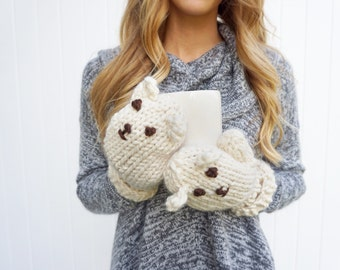 Cozy Bear Mittens
