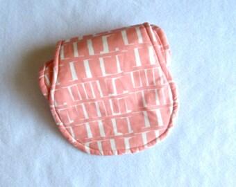 Emma Cloth - Peach Baby Burp Cloth ~ Baby Girl Burp Cloth ~ Baby Boy Burp Cloth - Neutral Burp Cloth ~ Burp Cloths
