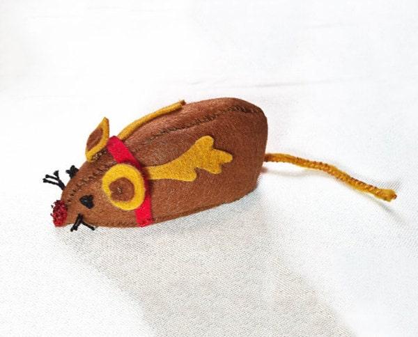 christmas cat toy catnip toy reindeer cat toys unique cat. Black Bedroom Furniture Sets. Home Design Ideas