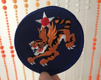 Military Flying Tiger Patch