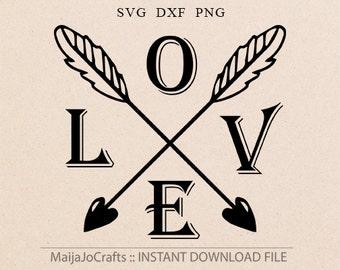 arrows SVG Love svg Boy Valentine svg Valentines day svg Dxf files Valentines Dxf Cricut downloads Silhouette designs Cricut designs