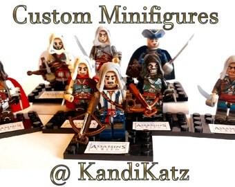 Assassins Creed Minifigures, Mini Figures, Assassins Creed toy,Assassins Creed Doll,Birthday,Valentine,Christmas,Gift,Easter Gift