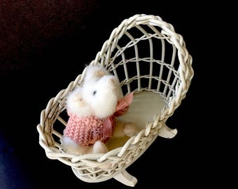"""Adorable White Rat """"Bebe"""" by Boyds"""