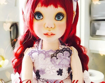 PamicDolls collection - 40 cm fabric doll