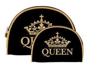 Queen Makeup bags